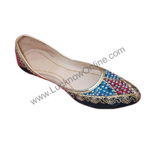 Ladies Nagra Jutti