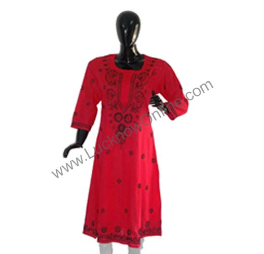 Ladies Top/ Kurti – Chikan